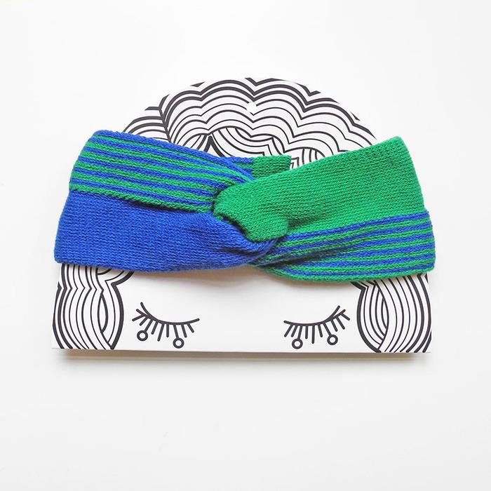 studio chiia好耘設計|手工法式髮帶|藍綠