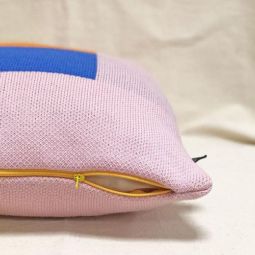 studio chiia好耘設計|針織抱枕套(黃窗景)