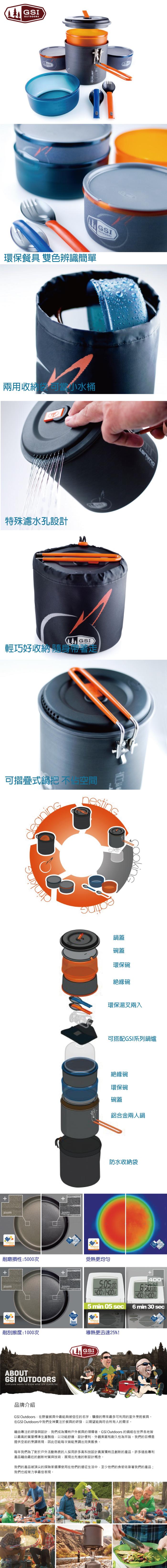 (複製)美國GSI Halulite Minimalist 陽極氧化鋁合金個人鍋組含湯叉