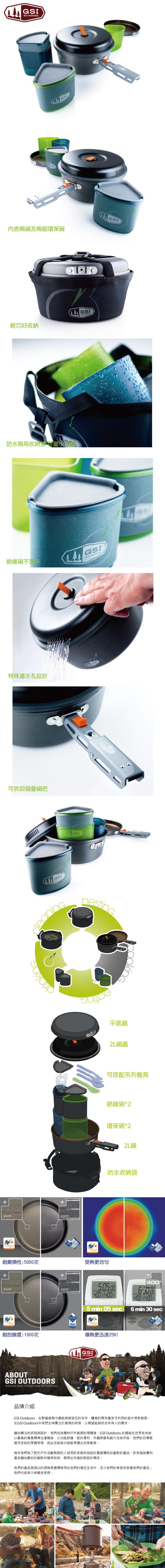 (複製)美國GSI|超輕量單人餐具套鍋組