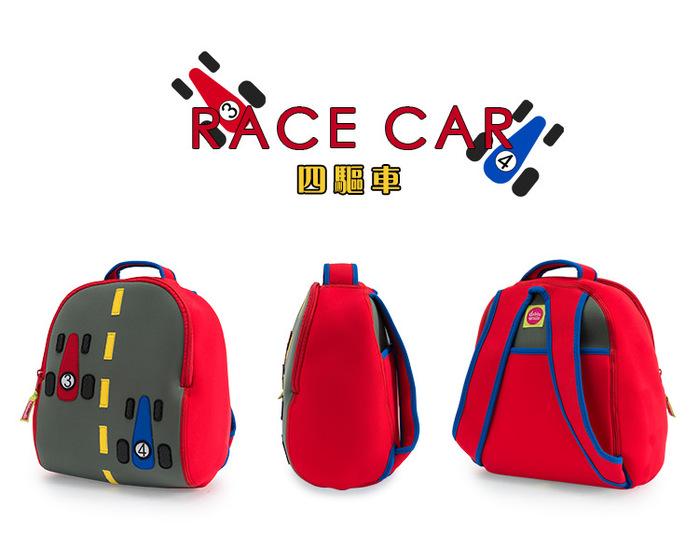 美國Dabbawalla瓦拉包|賽車兒童後背包