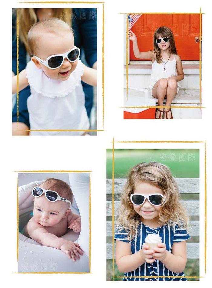 (複製)美國Babiators   飛行員系列嬰幼兒太陽眼鏡-粉紅公主 0-5歲