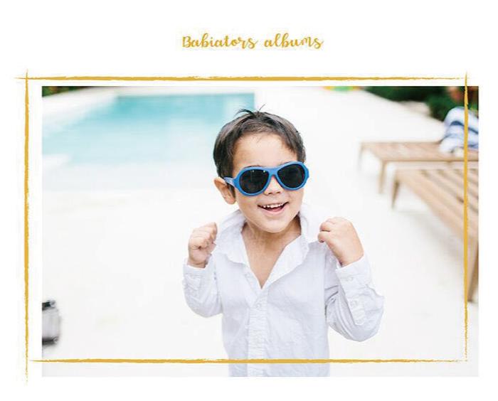 (複製)美國Babiators | 飛行員系列嬰幼兒太陽眼鏡-酷炫白翼 0-5歲