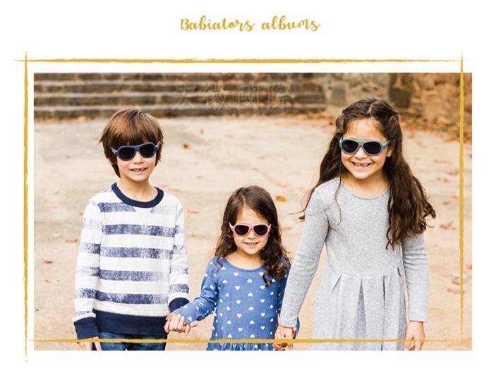 (複製)美國Babiators | 飛行員系列嬰幼兒太陽眼鏡-銀河灰藍 0-5歲