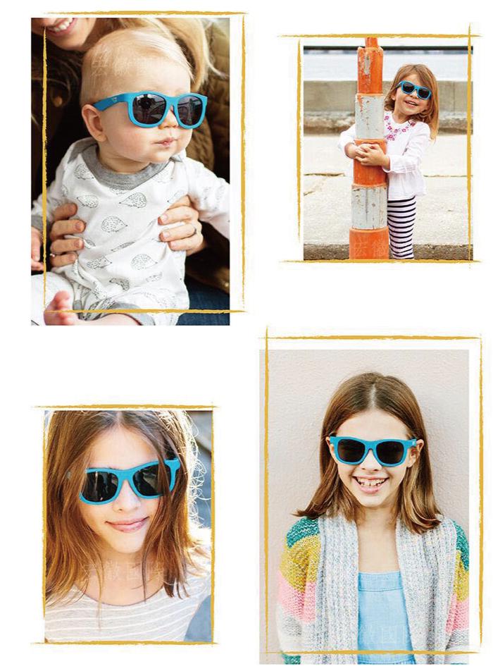 (複製)美國Babiators   飛行員系列嬰幼兒太陽眼鏡-逐風熱浪 0-5歲