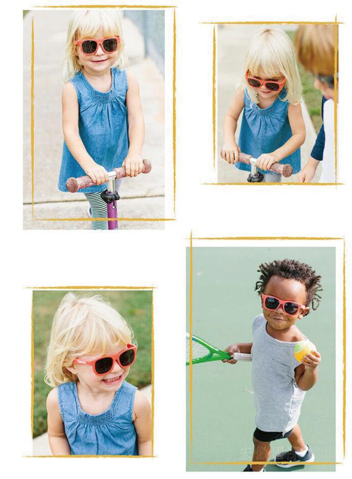 (複製)美國Babiators   航海員系列嬰幼兒太陽眼鏡-俏皮黃色 0-5歲
