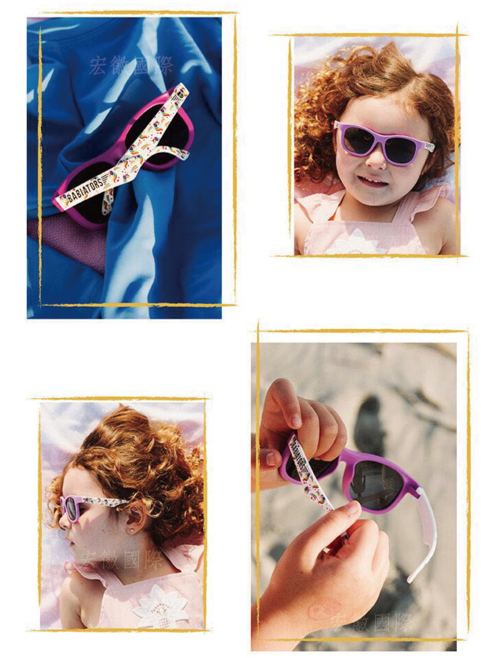 (複製)美國Babiators   航海員系列嬰幼兒太陽眼鏡-糖果公主(限量設計款) 0-5歲