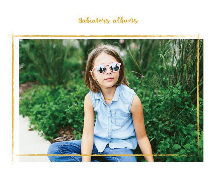 (複製)美國Babiators | 鑰匙孔系列嬰幼兒太陽眼鏡-漾藍天空(偏光鏡片) 0-10歲