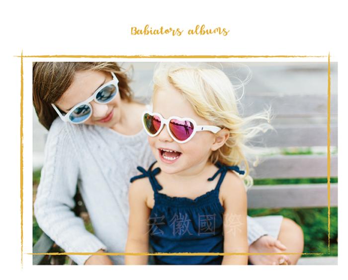 (複製)美國Babiators   航海員系列嬰幼兒太陽眼鏡-炫色橘灰(偏光鏡片) 0-10歲