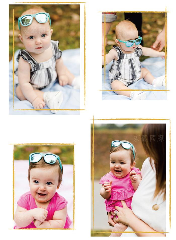 (複製)美國Babiators   航海員系列嬰幼兒太陽眼鏡-俏麗紫白 (偏光鏡片) 0-10歲