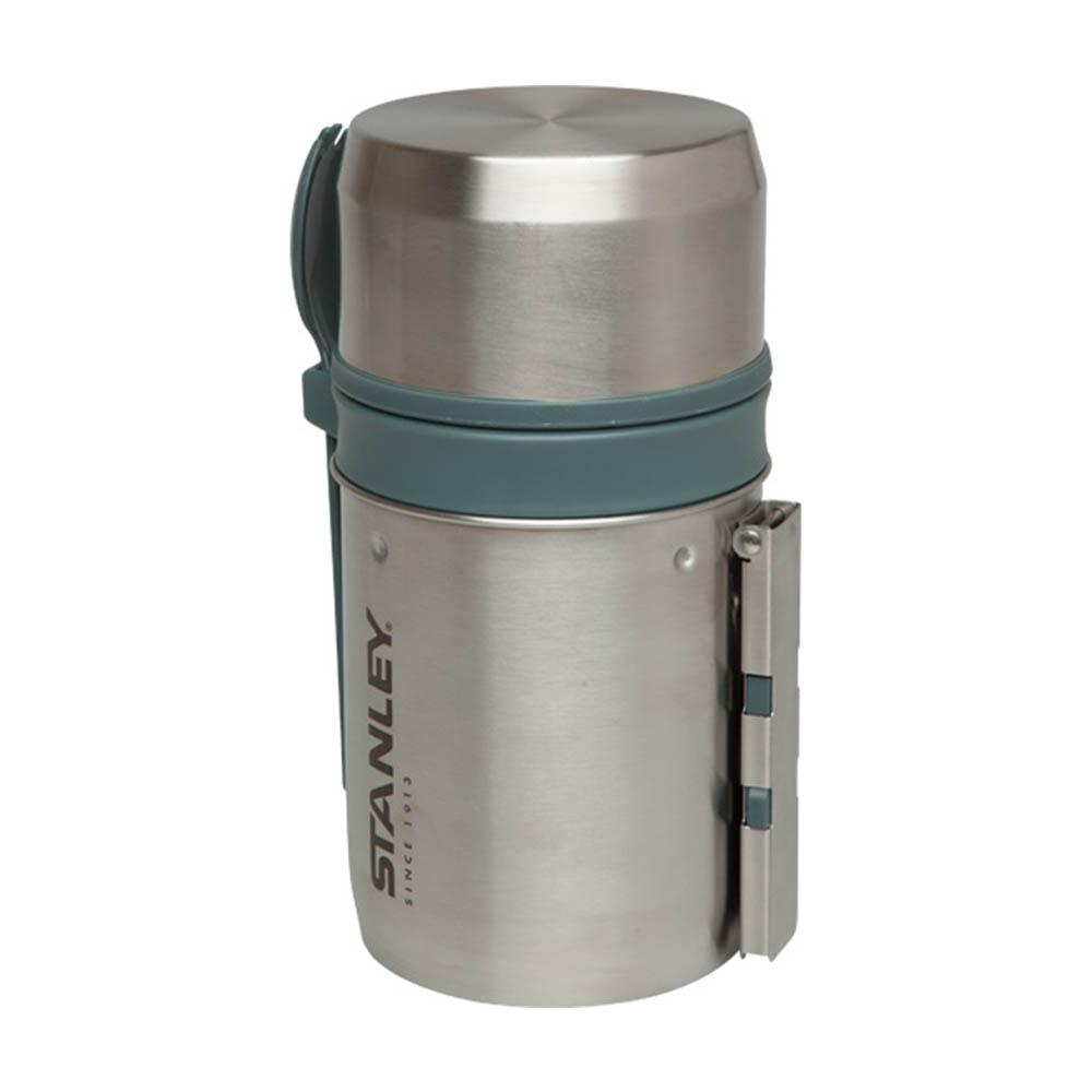 Stanley|登山系列真空保溫食物罐組591ml(不鏽鋼原色)