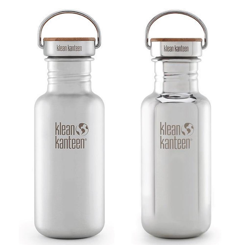 Klean Kanteen|竹片鋼蓋不鏽鋼水瓶-532ml