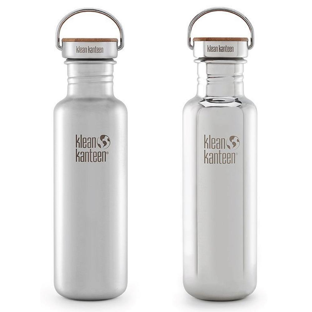 Klean Kanteen|竹片鋼蓋不鏽鋼水瓶-800ml