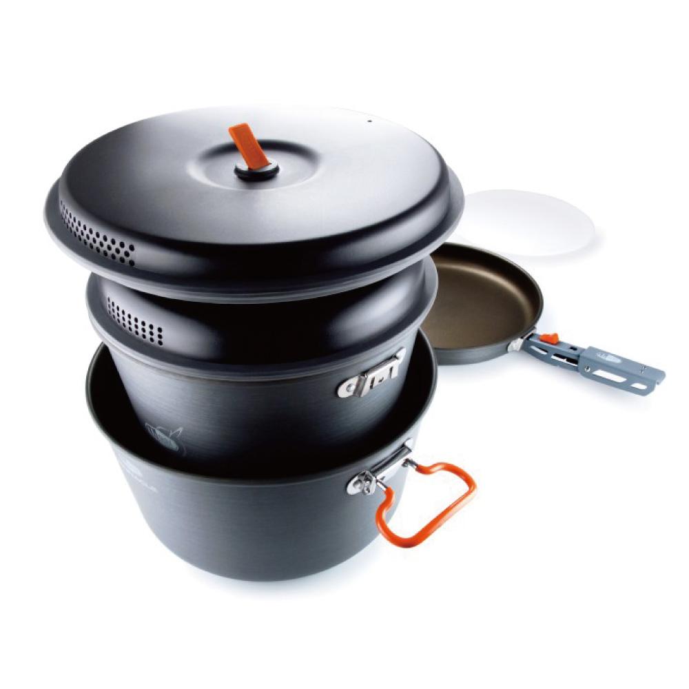 美國GSI|Pinnacle Base Camper-Large 套鍋組