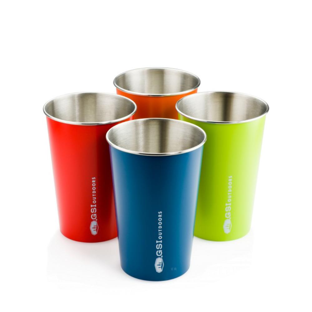 美國GSI|Glacier Stainless Pint Set 不鏽鋼品脫杯 四色
