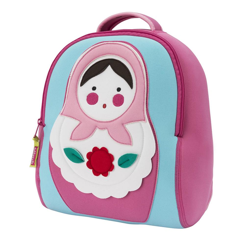 美國Dabbawalla瓦拉包 俄羅斯娃娃兒童後背包