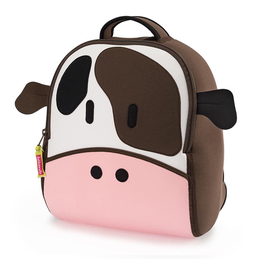美國Dabbawalla瓦拉包 乳牛兒童後背包