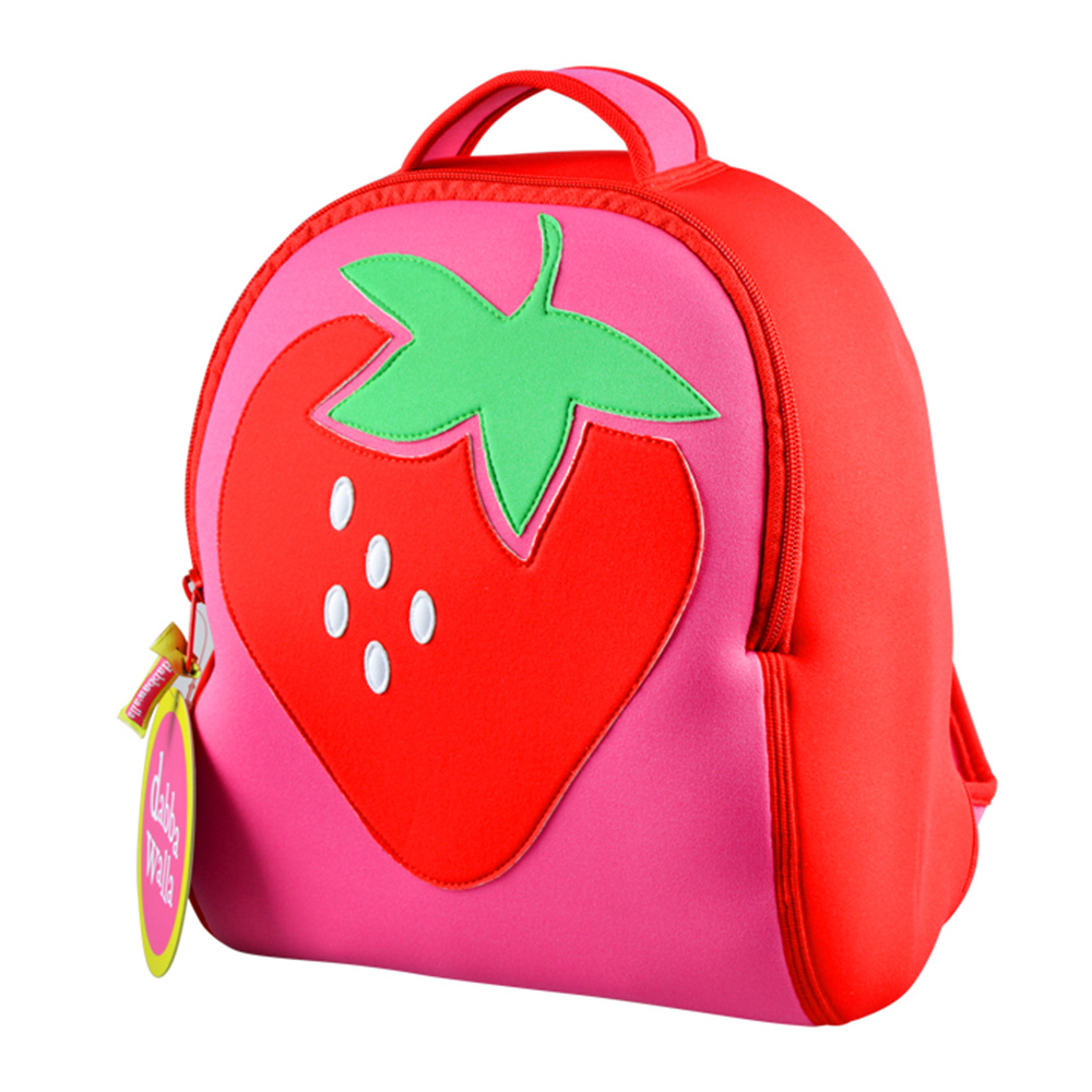 美國Dabbawalla瓦拉包 草莓兒童後背包