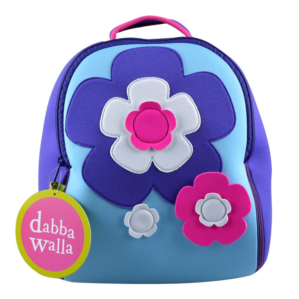 美國Dabbawalla瓦拉包 花朵兒童後背包