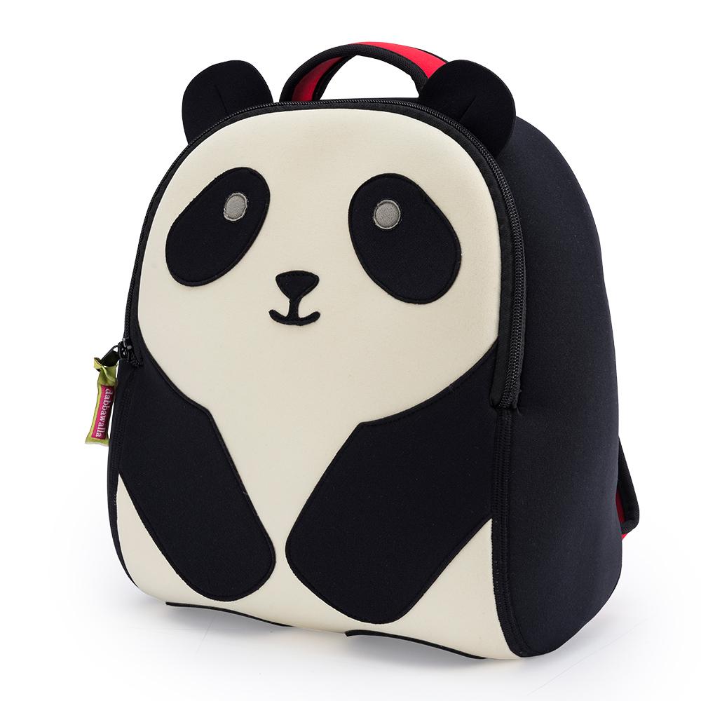 美國Dabbawalla瓦拉包 熊貓兒童後背包