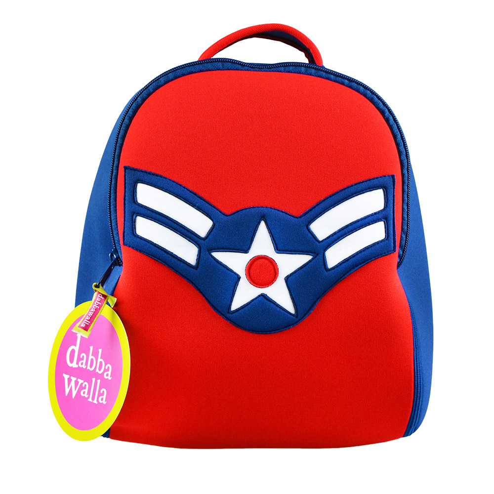 美國Dabbawalla瓦拉包 美國隊長兒童後背包