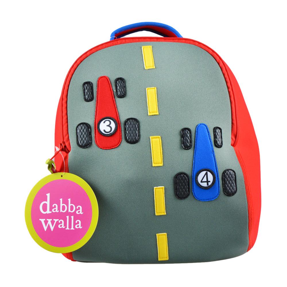 美國Dabbawalla瓦拉包 賽車兒童後背包