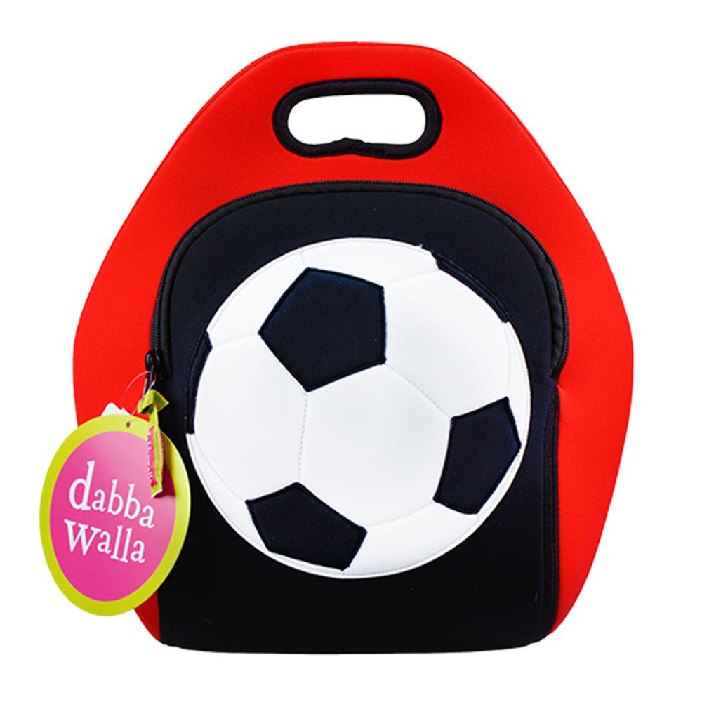 美國Dabbawalla瓦拉包 足球兒童手提包