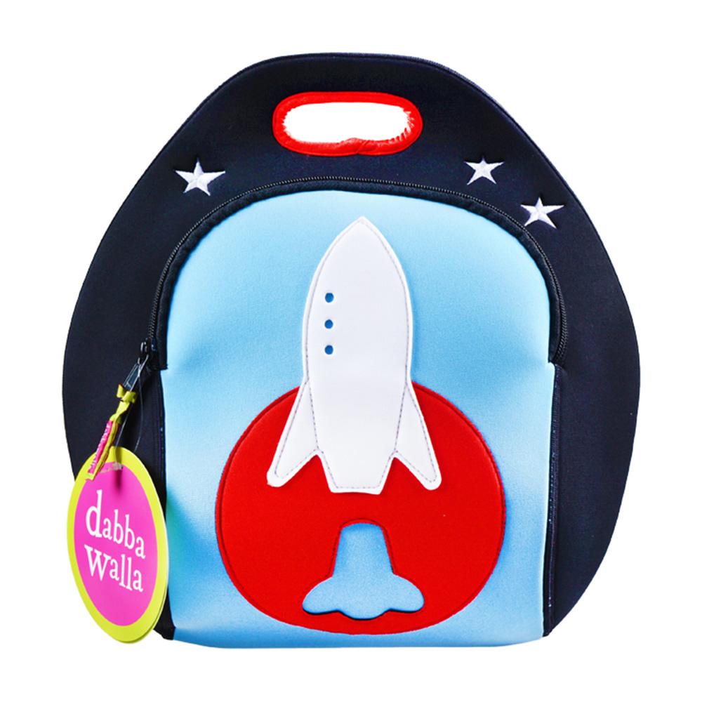 美國Dabbawalla瓦拉包 火箭兒童手提包
