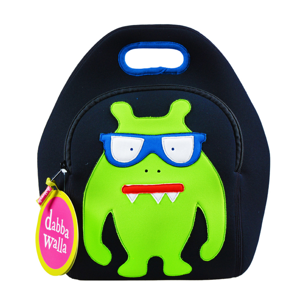 美國Dabbawalla瓦拉包|怪獸兒童手提包