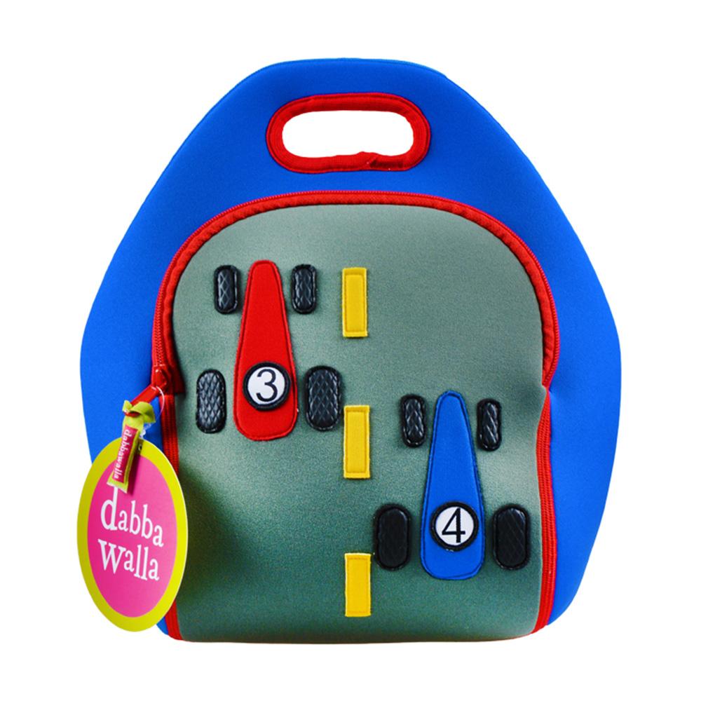 美國Dabbawalla瓦拉包 賽車兒童手提包