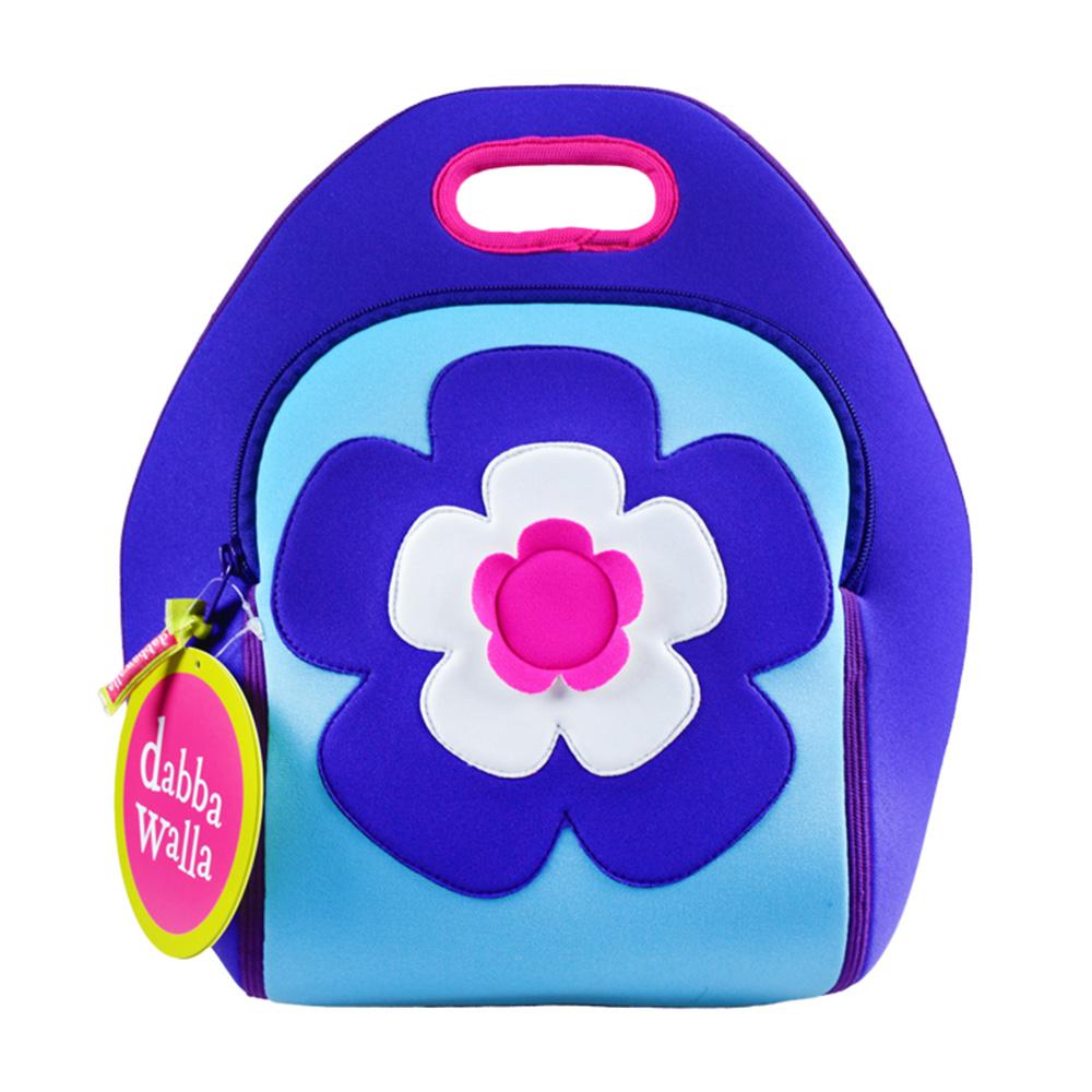 美國Dabbawalla瓦拉包|花朵兒童手提包