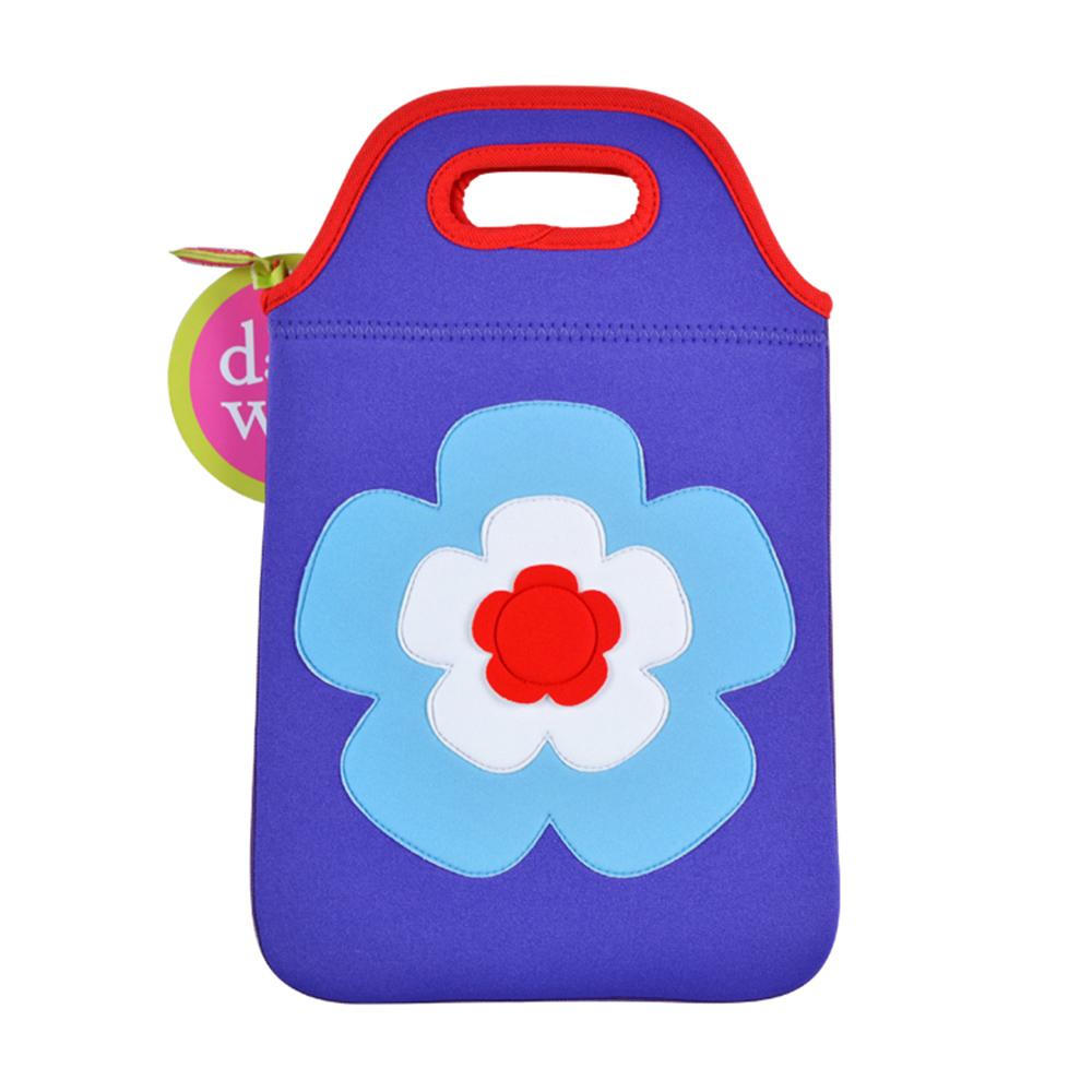 美國Dabbawalla瓦拉包|花朵兒童平板袋