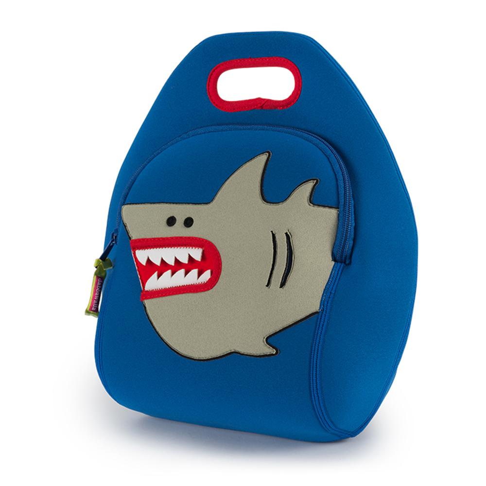 美國Dabbawalla瓦拉包 小白鯊兒童手提包