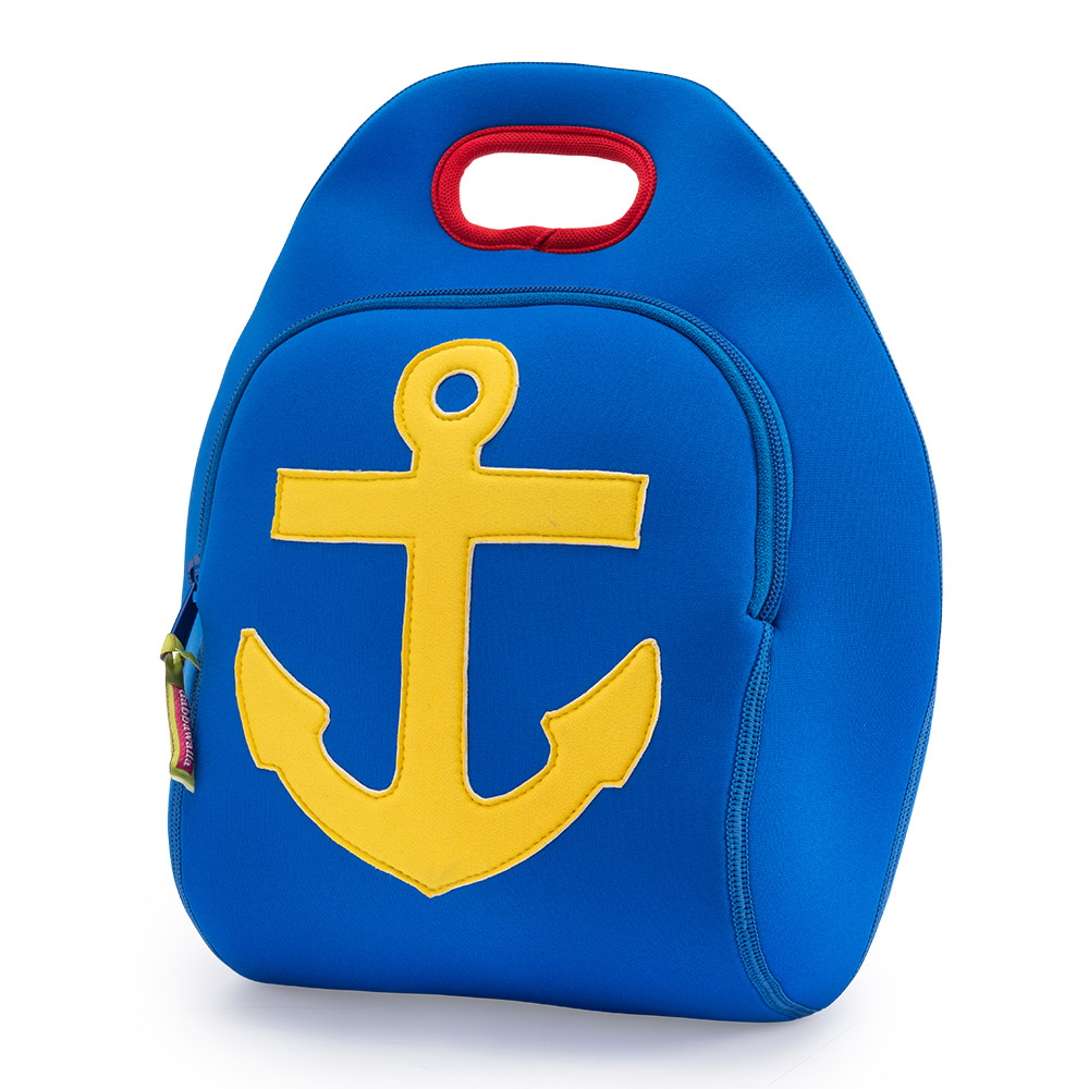 美國Dabbawalla瓦拉包|船錨兒童手提包