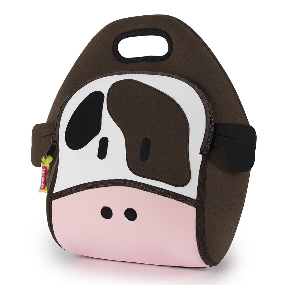 美國Dabbawalla瓦拉包 乳牛兒童手提包