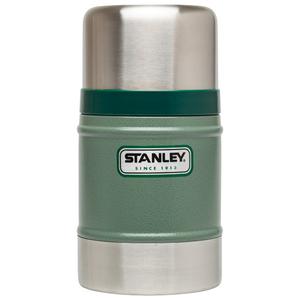 美國Stanley|經典不鏽鋼真空保溫食物悶燒罐502ml(錘紋綠)