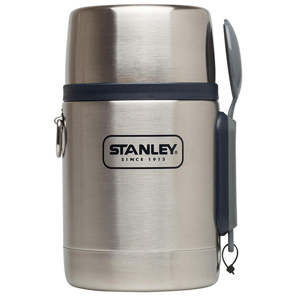 美國Stanley | 冒險不鏽鋼真空保溫食物悶燒罐532ml(不鏽鋼原色)