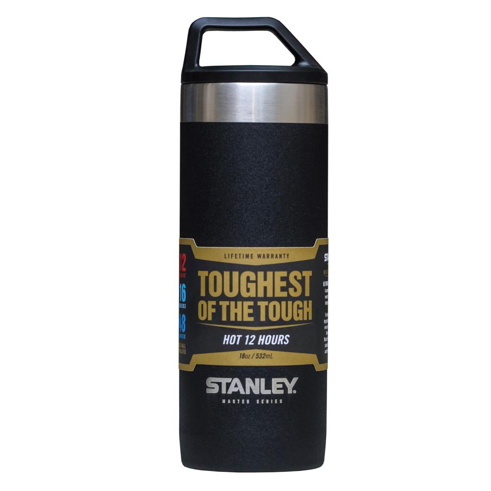 美國Stanley|強悍系列保溫瓶0.53L-磨砂黑