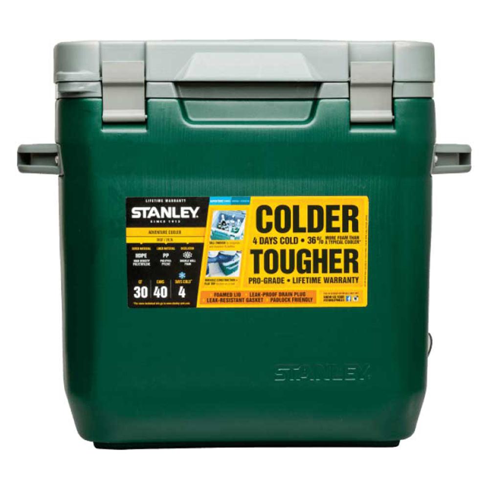 美國Stanley | 可提式Cooler冰桶 28.3L-綠色