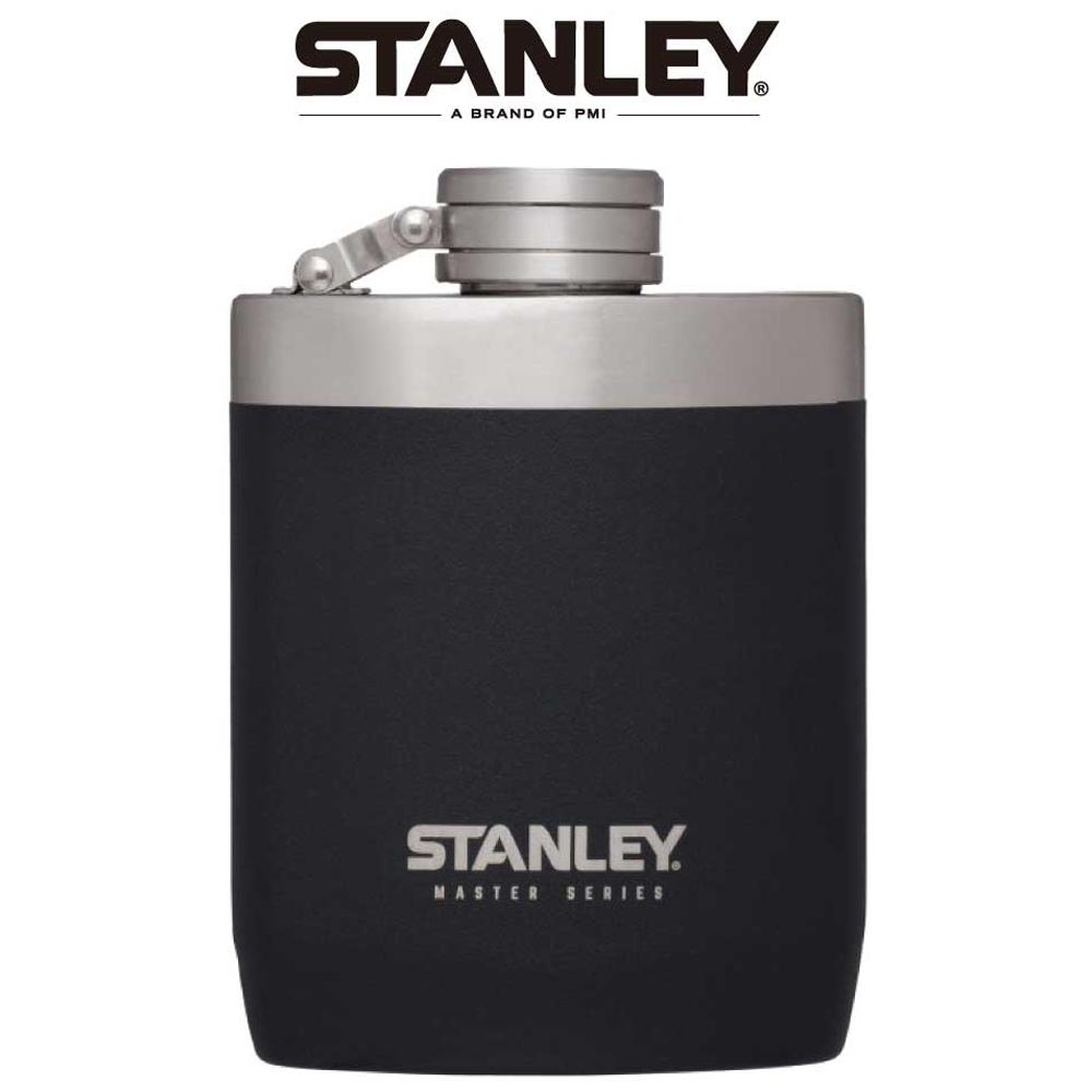 Stanley | 強悍系列酒壺0.24L-磨砂黑