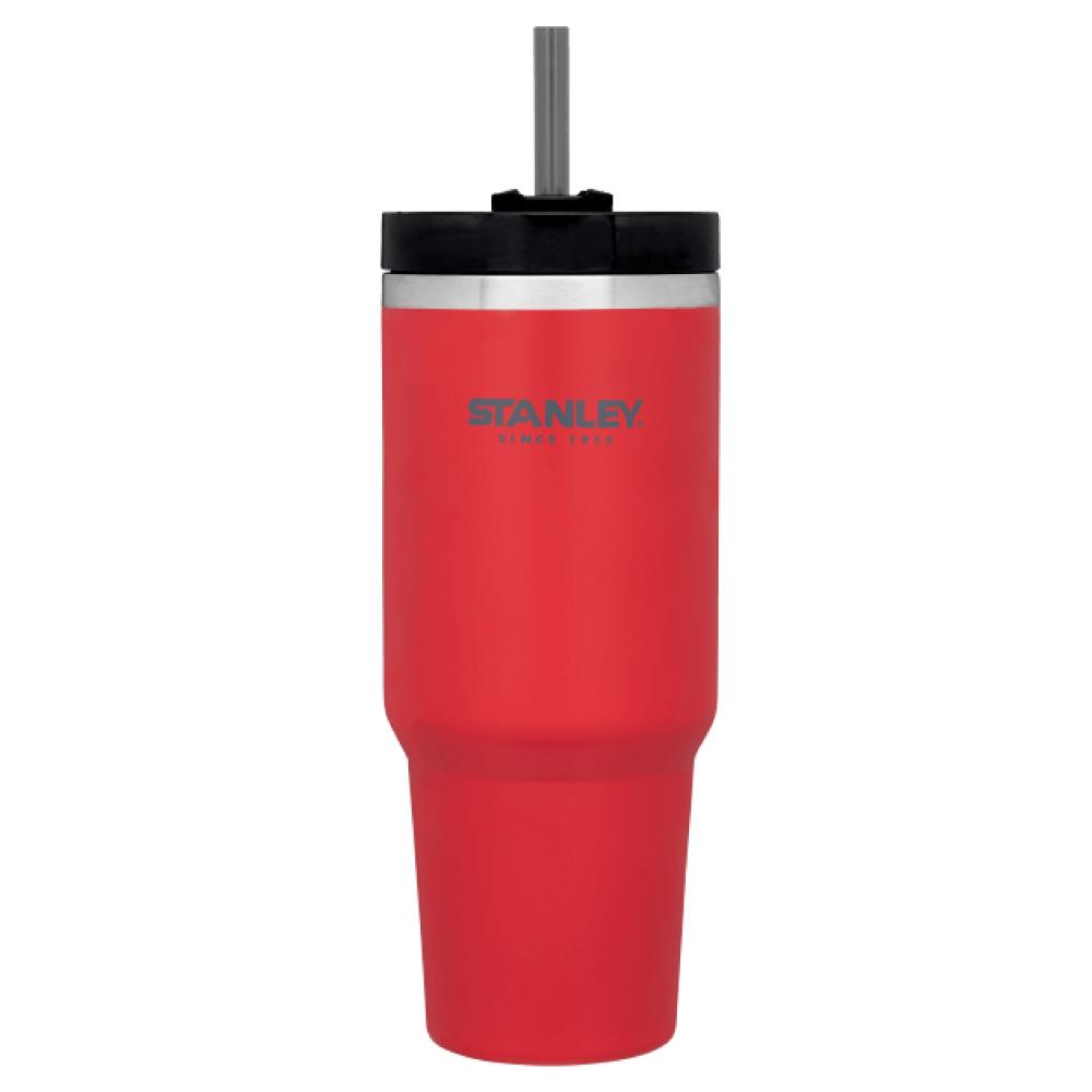 美國Stanley | 冒險系列手搖飲料吸管杯0.88L-寶石紅