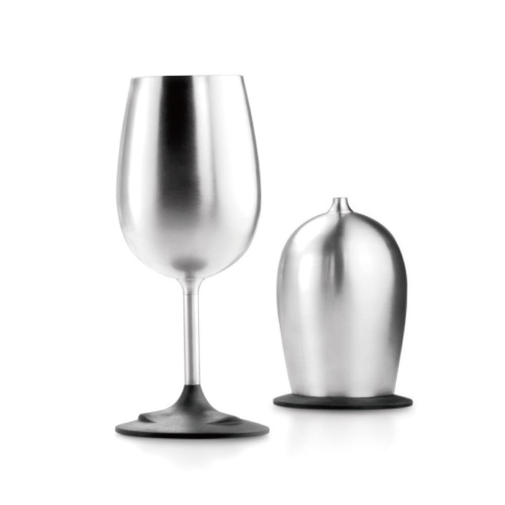 美國GSI|不鏽鋼白酒杯320ml(可收疊)X2入