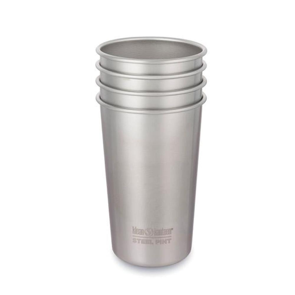 美國Klean Kanteen|不銹鋼飲料杯4入組-473ml