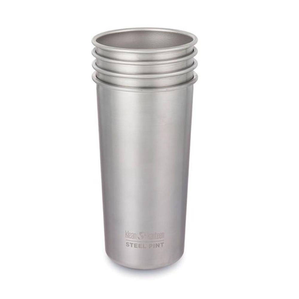 美國Klean Kanteen|不銹鋼飲料杯4入組-592ml