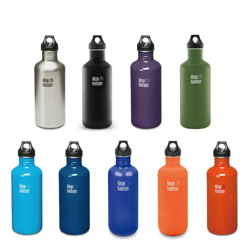 美國Klean Kanteen 窄口不鏽鋼水瓶-1182ml