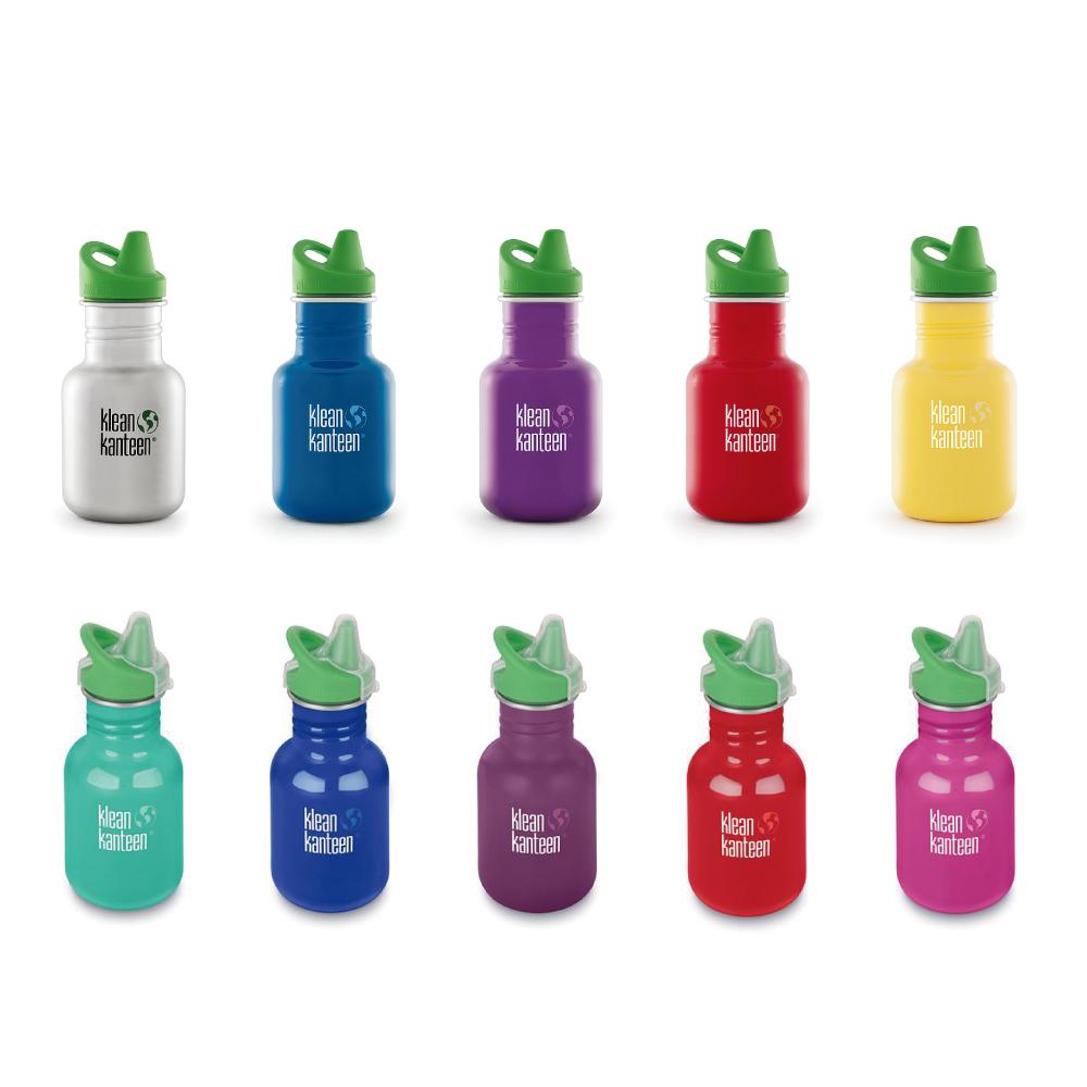 美國Klean Kanteen|幼童不鏽鋼吸嘴水瓶-355ml