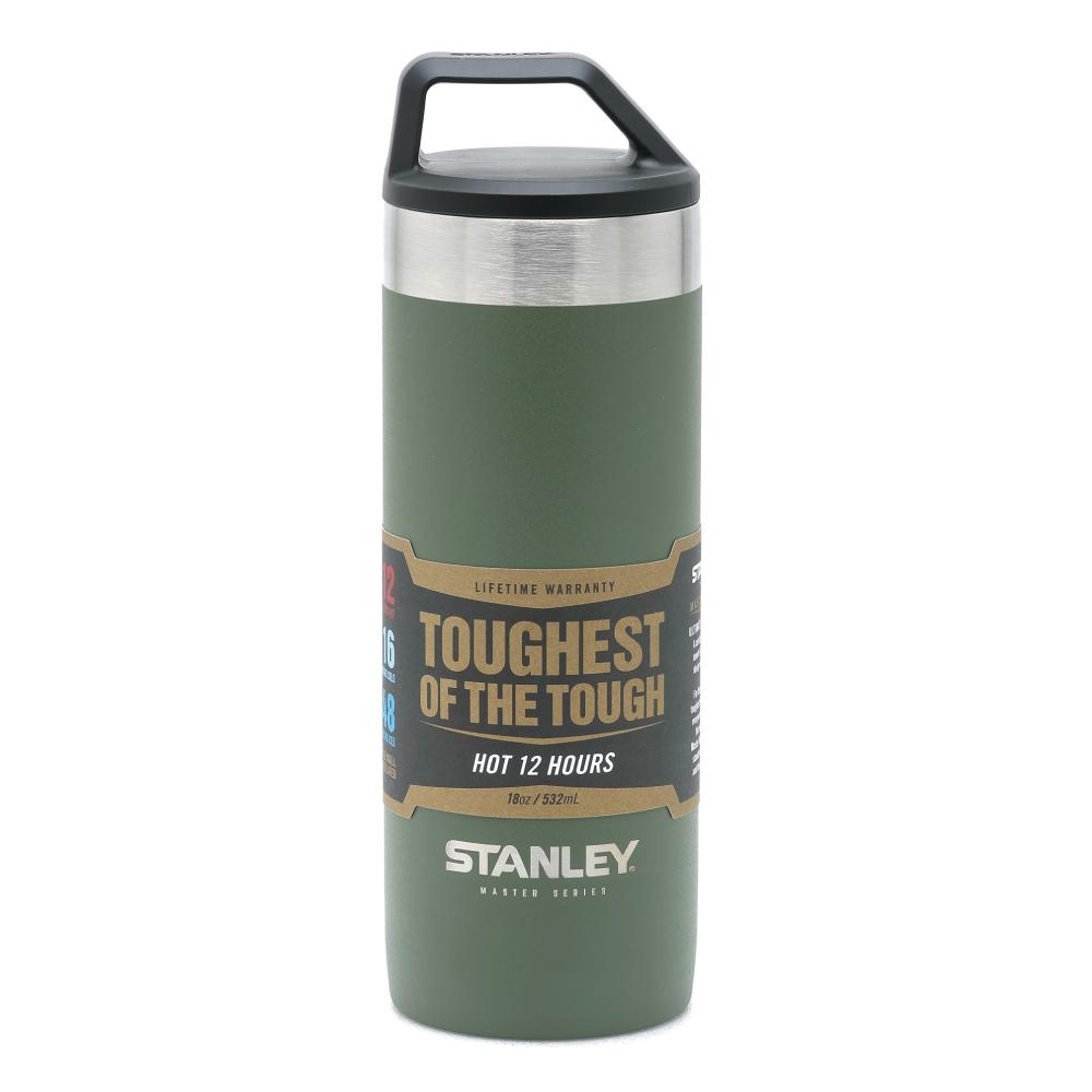 美國Stanley|強悍系列保溫瓶0.53L-橄欖綠