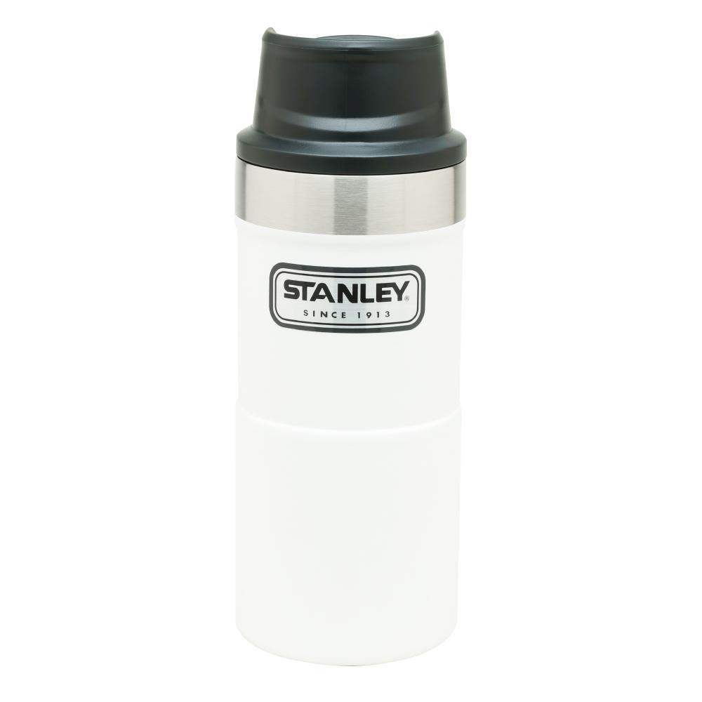 美國Stanley|時尚2.0單手保溫咖啡杯354ml-簡約白