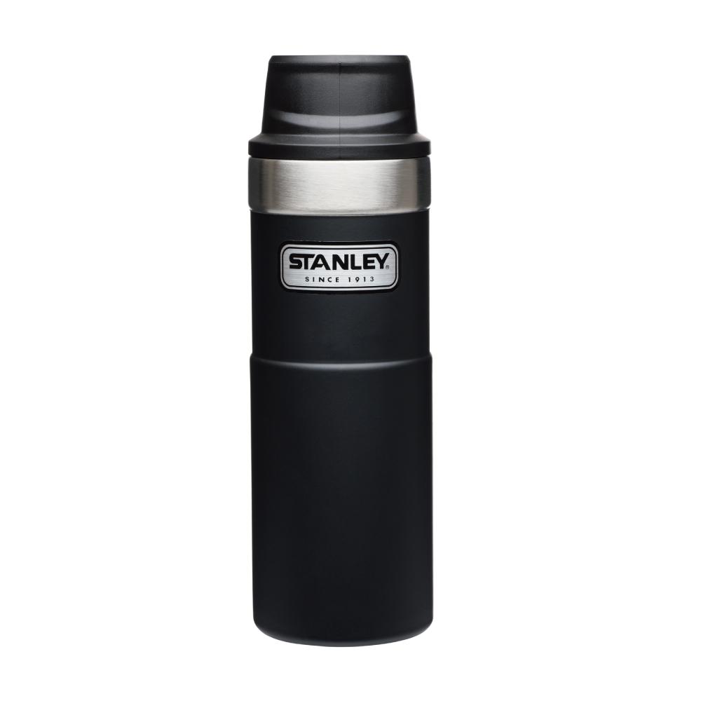 美國Stanley|時尚2.0單手保溫咖啡杯473ml-消光黑