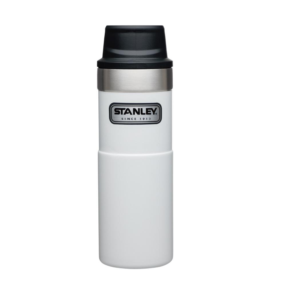 美國Stanley|時尚2.0單手保溫咖啡杯473ml-簡約白
